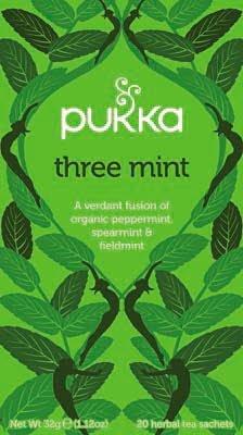 Pukka Three Mint 20 zakjes -
