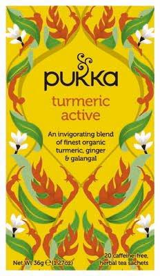 Pukka Turmeric Active 20 zakjes -