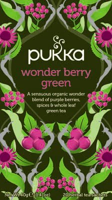 Pukka Wonder Berry Green 20 zakjes -