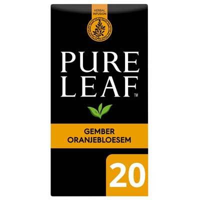 Pure Leaf Biologische Thee Gember Oranjebloesem 20 zakjes -
