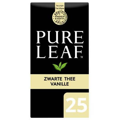 Pure Leaf Biologische Zwarte Thee Vanille 25 zakjes -