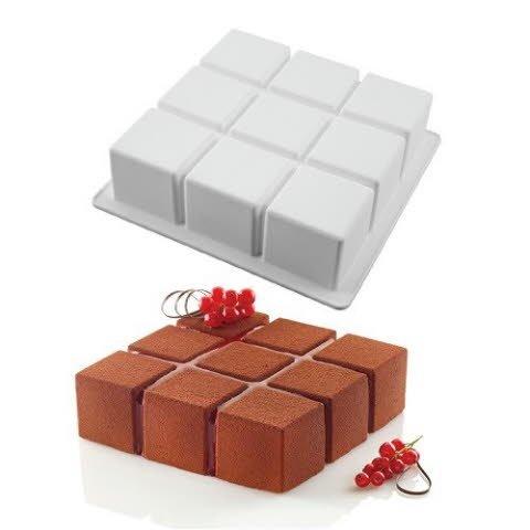 Silikomart siliconen mal cubic -