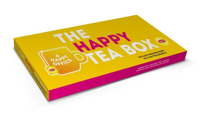 The Happy Tea Box -