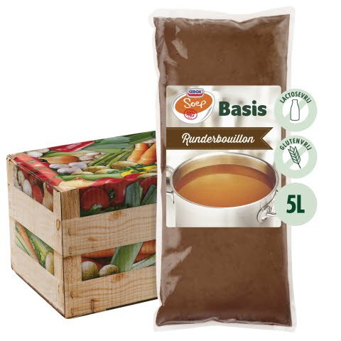 Unox Basis Runderbouillon voor 5L -