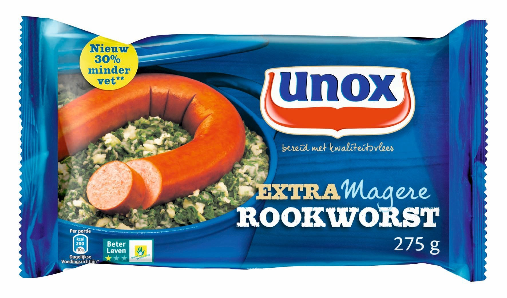 Unox Beter Leven 1 ster Magere Rookworst