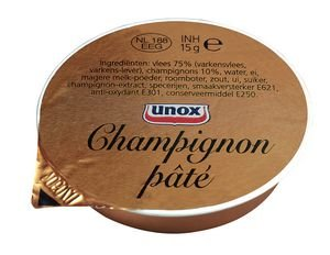 Unox Champignonpaté 40x15g