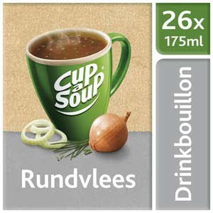 Unox Cup-a-Soup Drinkbouillon Sachets Rundvlees 26 x 175 ml