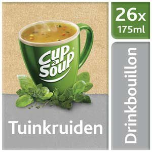 Unox Cup-a-Soup Drinkbouillon Sachets Tuinkruiden 26 x 175 ml