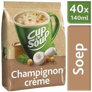 Unox Cup-a-Soup Machinezak Champignon Crème 40 x 140 ml