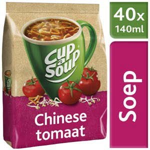 Unox Cup-a-Soup Machinezak Chinese Tomaat 40 x 140 ml