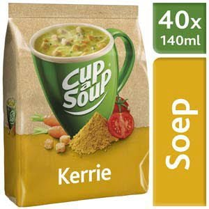 Unox Cup-a-Soup Machinezak Kerrie 40 x 140 ml