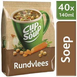 Unox Cup-a-Soup Machinezak Rundvlees 40 x 140 ml