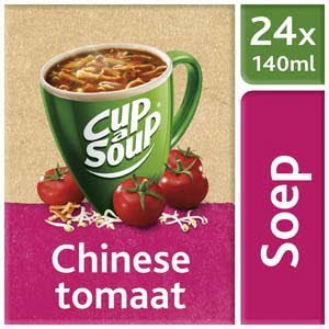 Unox Cup-a-Soup Sachets Chinese tomaat 24 x 140ml