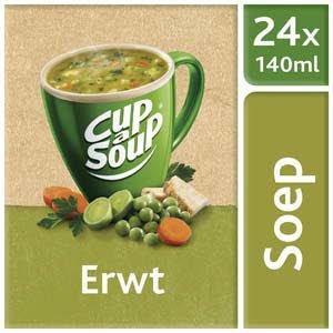 Unox Cup-a-Soup Sachets Erwt 24 x 140ml