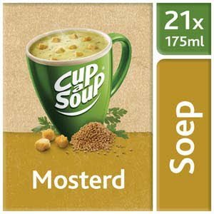 Unox Cup-a-Soup Sachets Mosterd 21  x 175 ml