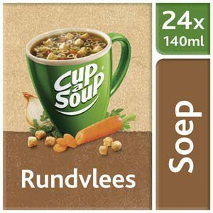 Unox Cup-a-Soup Sachets Rundvlees 24 x 140ml