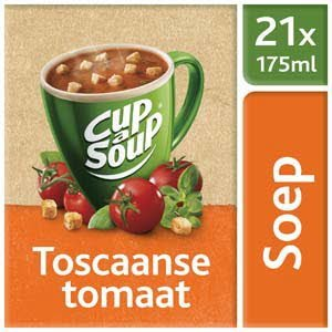 Unox Cup-a-Soup Sachets Toscaanse tomaat 21  x 175 ml