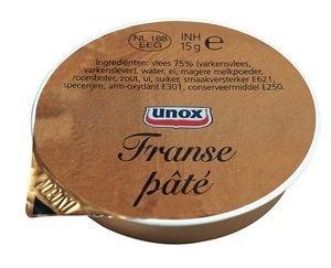 Unox Franse paté 40x15g