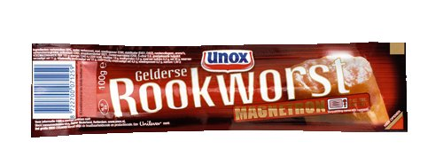 Unox Gelderse Rookworst Magnetron 100g