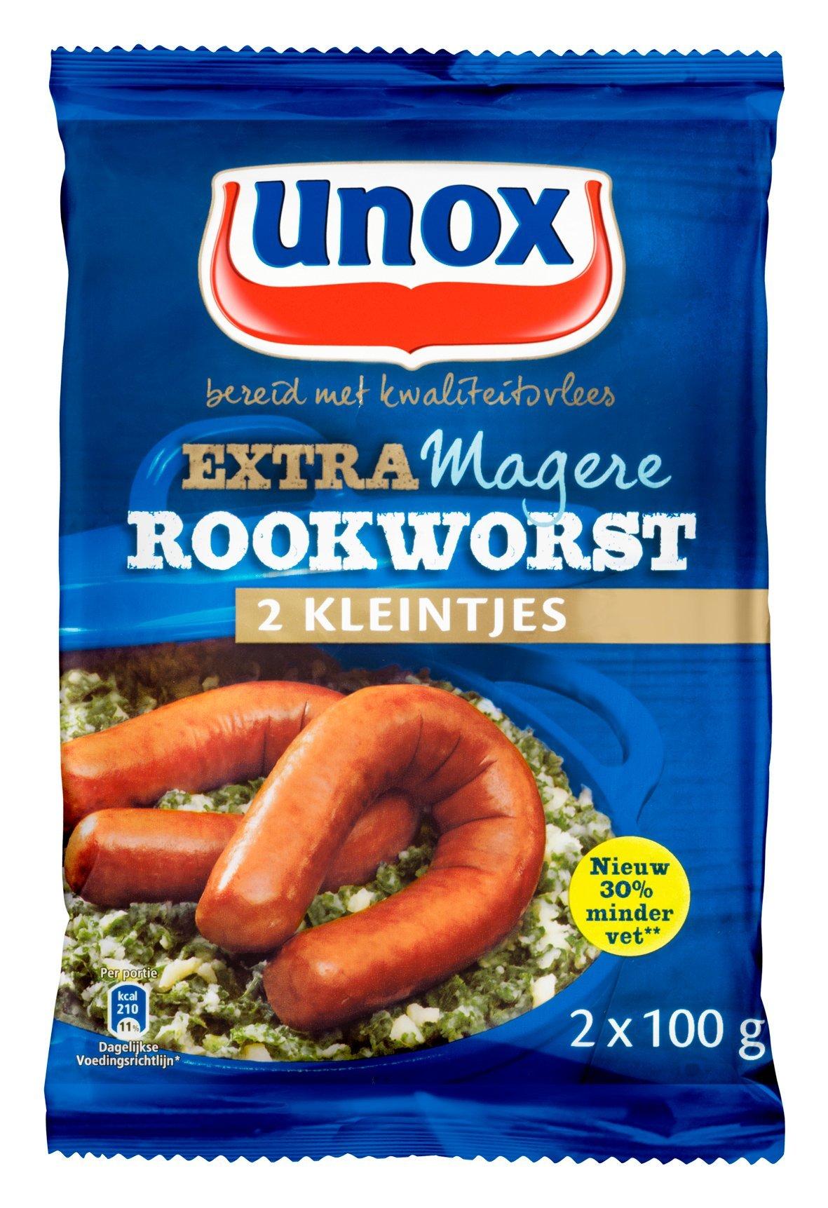 Unox Kleintje Magere Rookworst