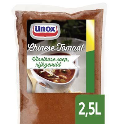 Unox Vloeibare Chinese Tomatensoep 2,5L -