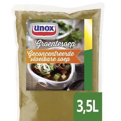 Unox Vloeibare Heldere Groentesoep voor 3,5L -