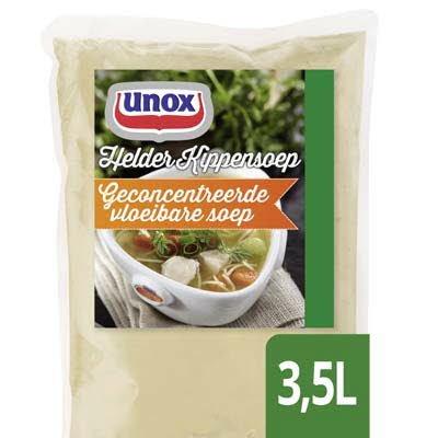Unox Vloeibare Heldere Kippensoep voor 3,5L -