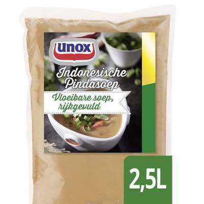 Unox Vloeibare Indonesische Pindasoep 2,5L -