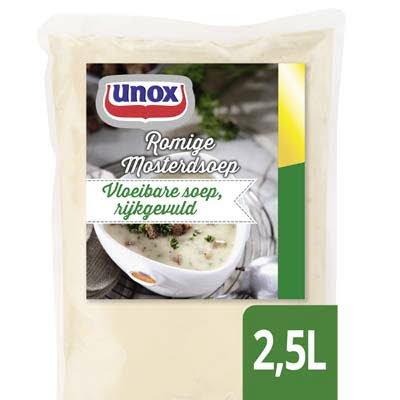 Unox Vloeibare Mosterdsoep 2,5L -