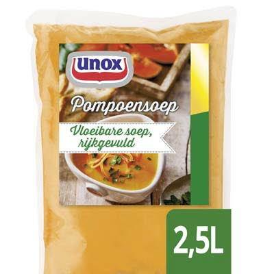 Unox Vloeibare Pompoensoep 2,5L -