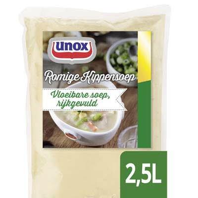 Unox Vloeibare Romige Kippensoep 2,5L -