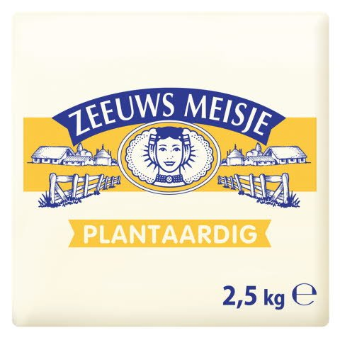 Zeeuws Meisje Margarine 2,5kg -