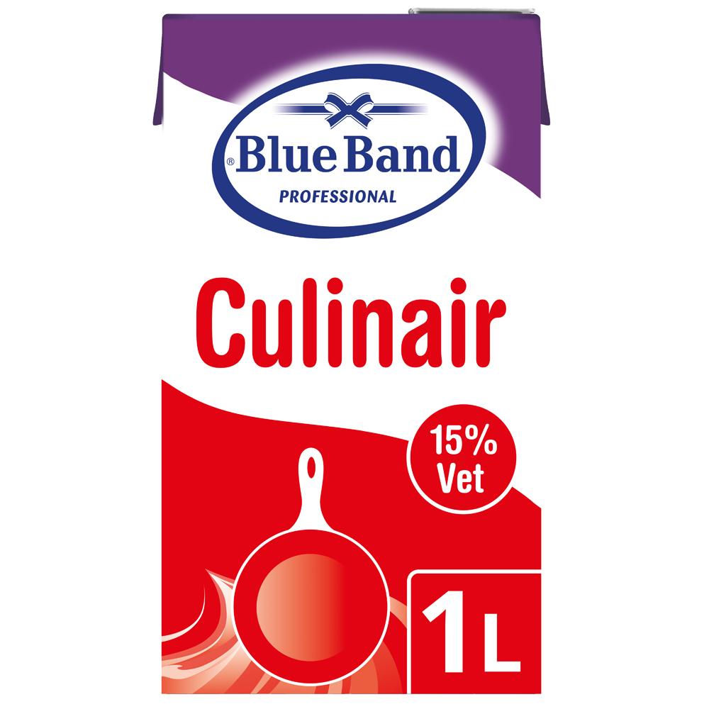 Blue Band Culinair 15% 1L - Blue Band Culinair garandeert mij een stabiele saus. Ilse Peeters, Restaurant De Graslei, Gent