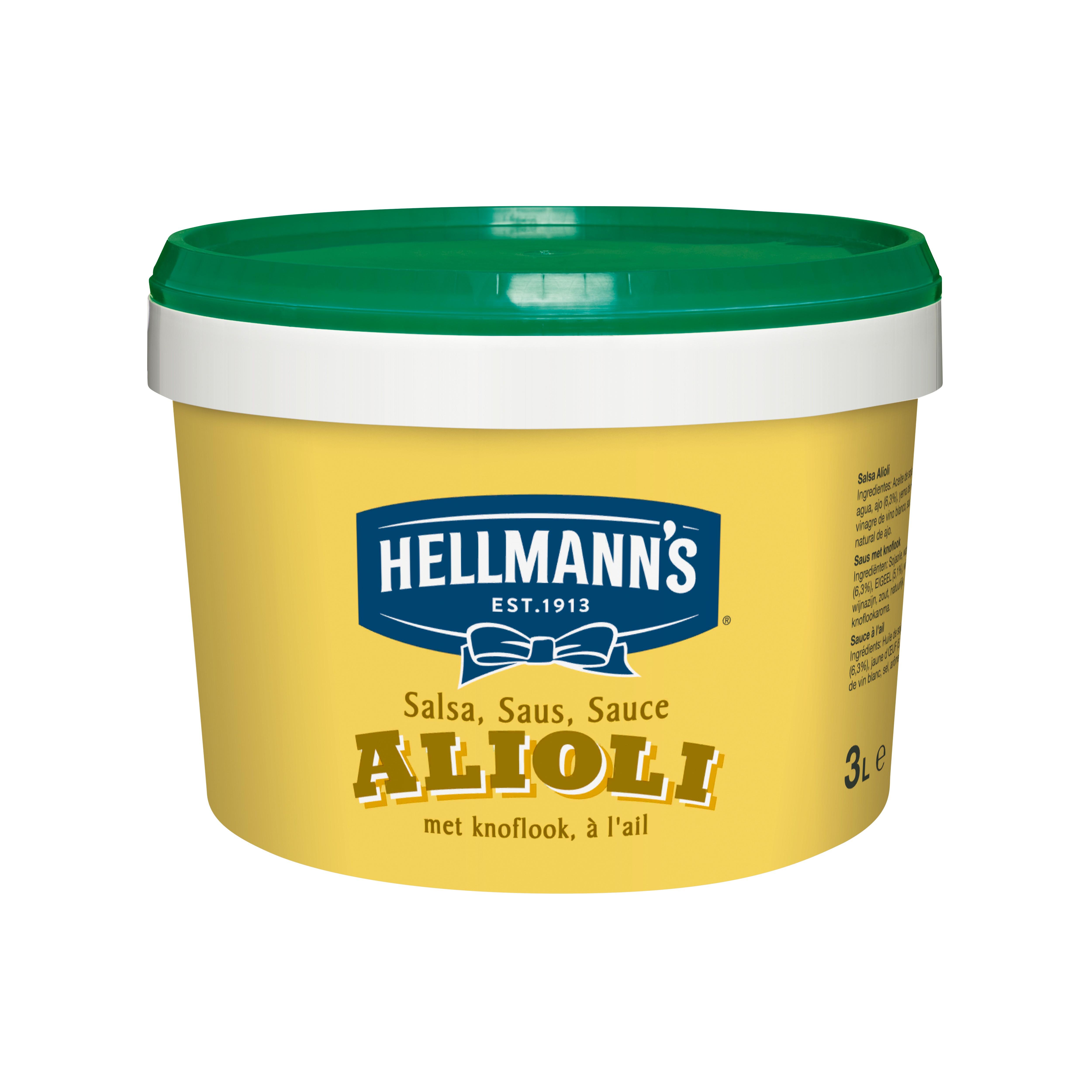 Hellmann's Aioli - Heerlijke recepten en makkelijk in gebruik: probeer nu Hellmann's Alioli