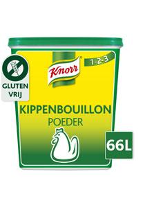 Knorr 1-2-3 Kippenbouillon krachtige smaak Poeder 66L