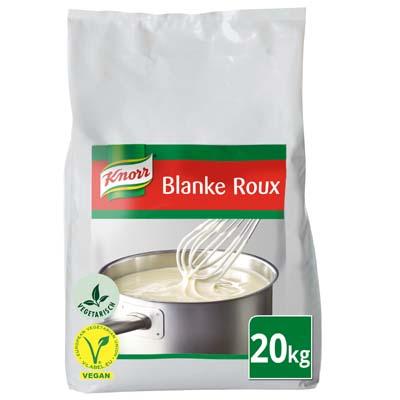 Knorr Blanke Roux Korrels 20kg - Knorr Roux bindt je sauzen, perfect in een oogwenk, elke keer opnieuw.