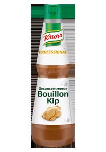"""Knorr Professional Geconcentreerde Bouillon Kip - De nieuwe generatie vloeibare bouillon heeft de intense en natuurlijke smaak van kip."""" Martin Rotteveel, Bij Teus, Houten"""