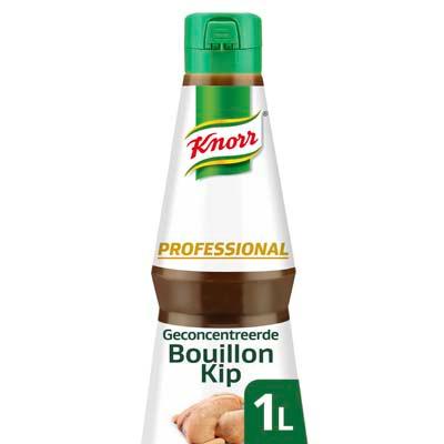 """Knorr Professional Geconcentreerde Kippenbouillon Vloeibaar 1L - De nieuwe generatie vloeibare bouillon heeft de intense en natuurlijke smaak van kip."""" Martin Rotteveel, Bij Teus, Houten"""