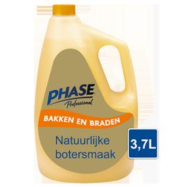 Phase Professional met natuurlijke botersmaak 3,7L - Phase combineert het krokante laagje van bakken in olie met de verfijnde smaak van boter