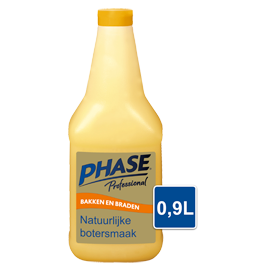 Phase with Natural Butter Flavour 0,9L