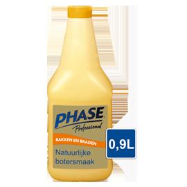 Phase with Natural Butter Flavour 0,9L - Phase combineert het krokante laagje van bakken in olie met de verfijnde smaak van boter