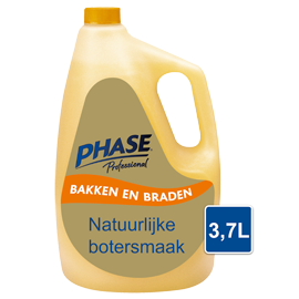 Phase with Natural Butter Flavour 3,7L