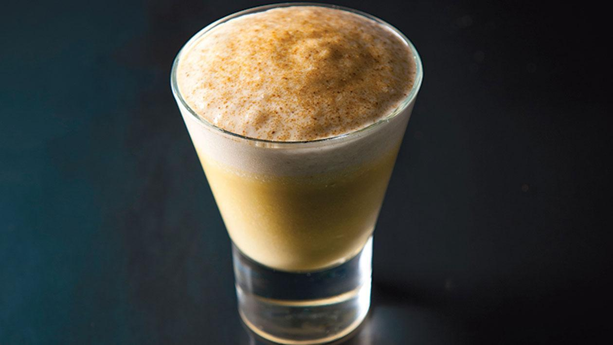 Boscappuccino, espuma van eekhoorntjesbrood