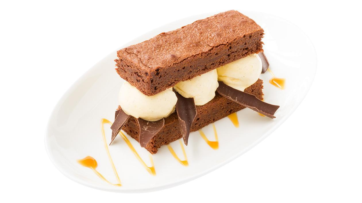 Brownie Ice Cream Sandwich