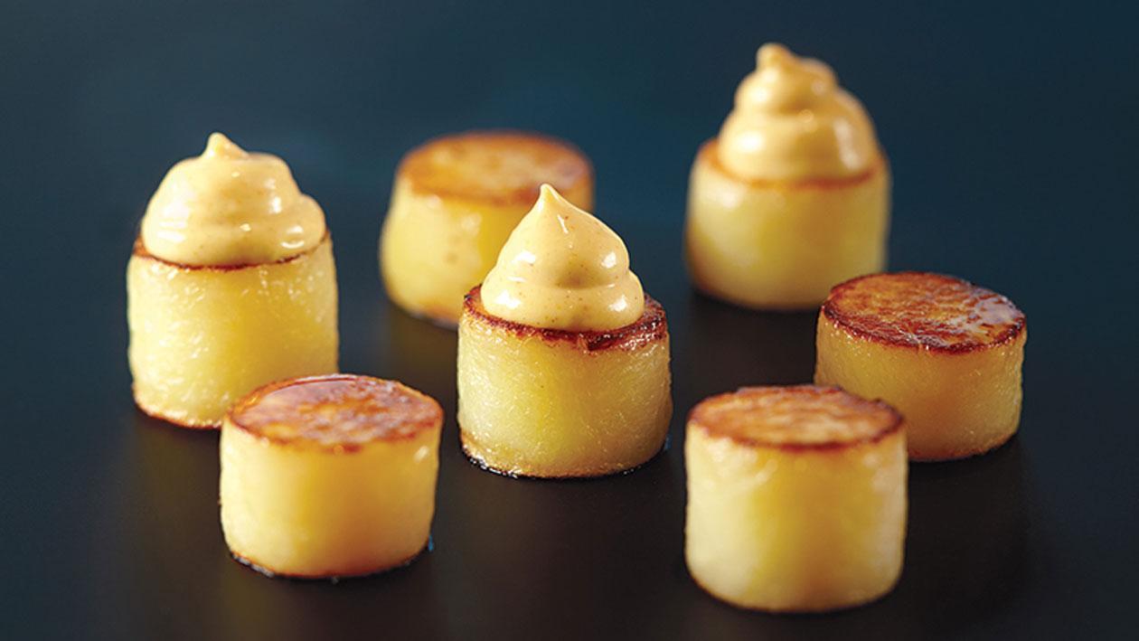 Gekonfijte aardappelen
