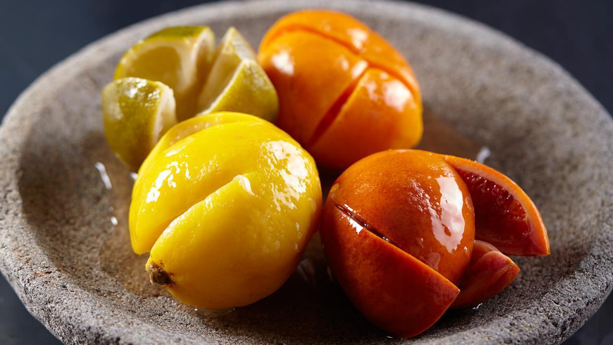 Ingelegde citrus