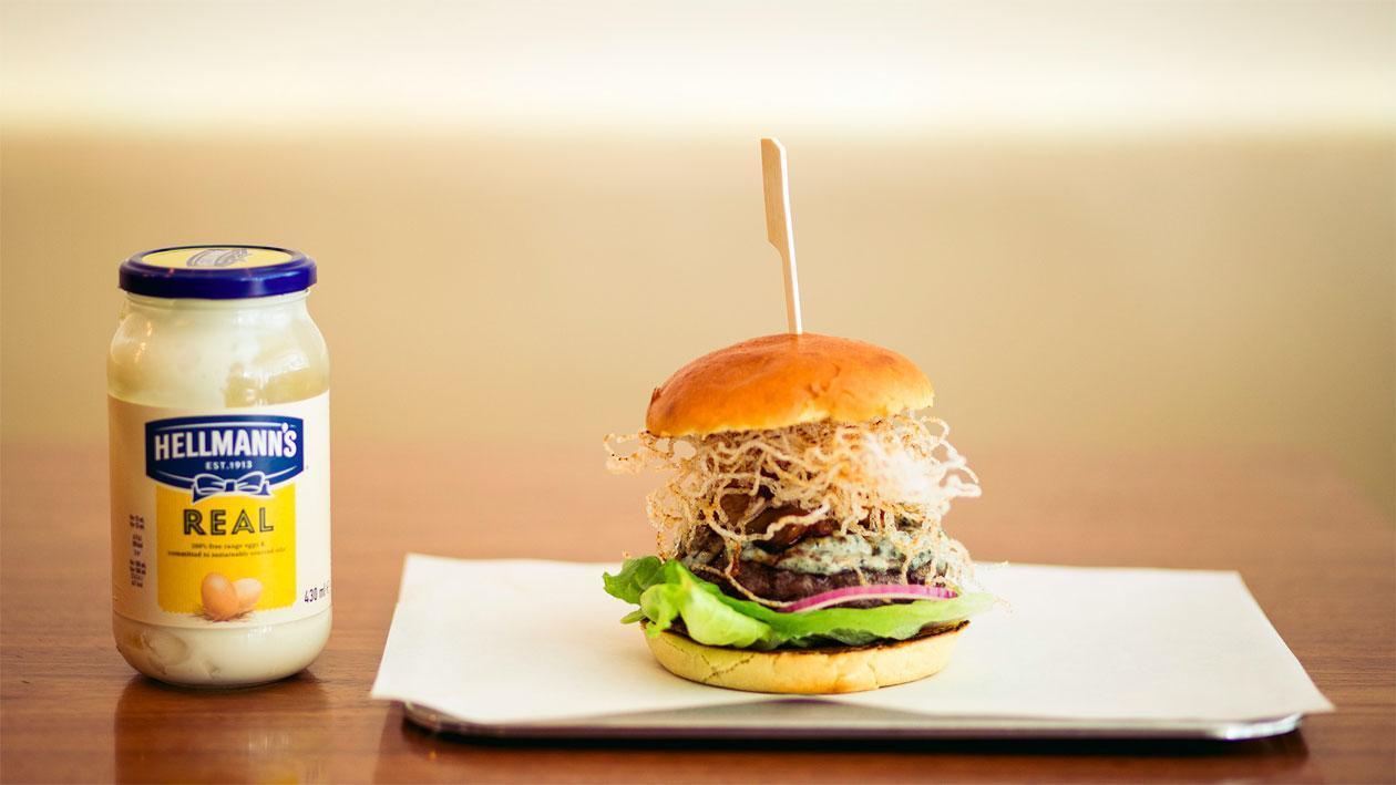 Japanse Surf & turf-burger