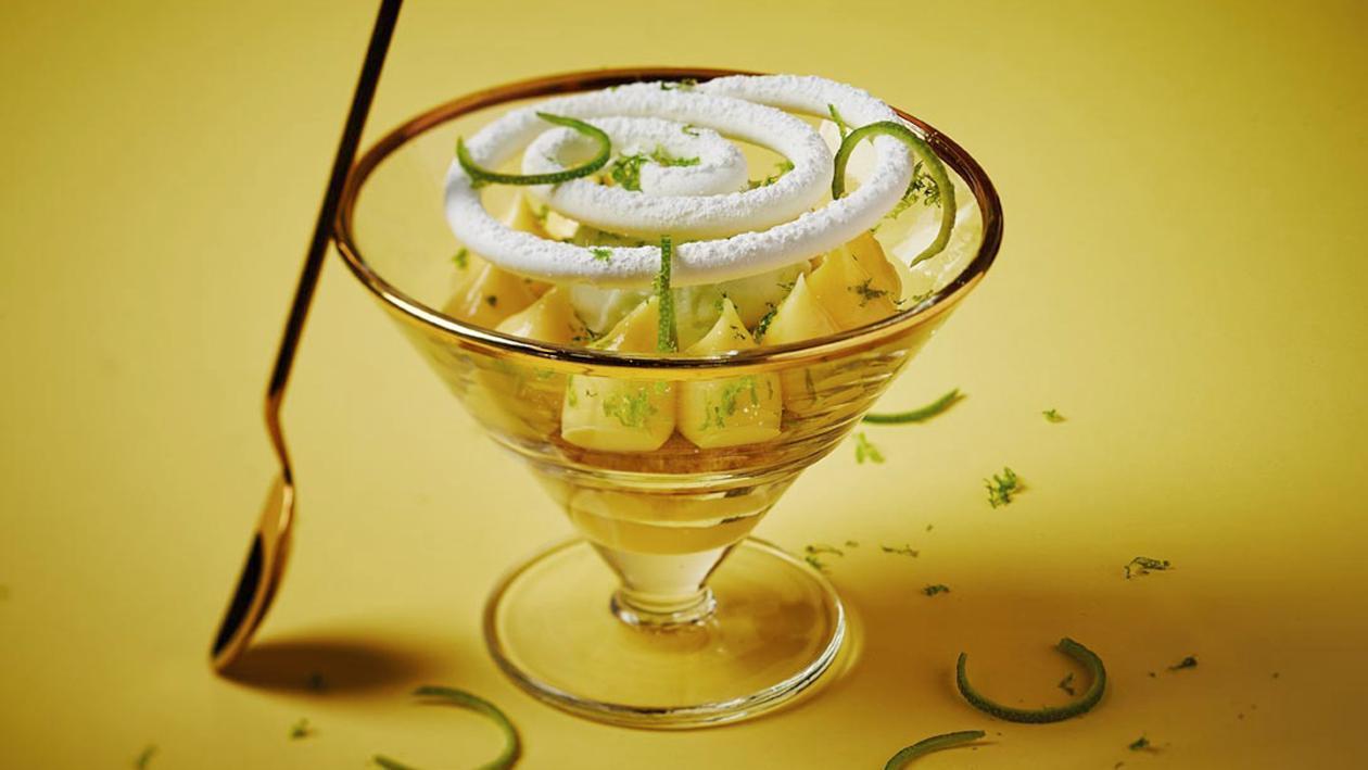 Limoen Meringue Dessert