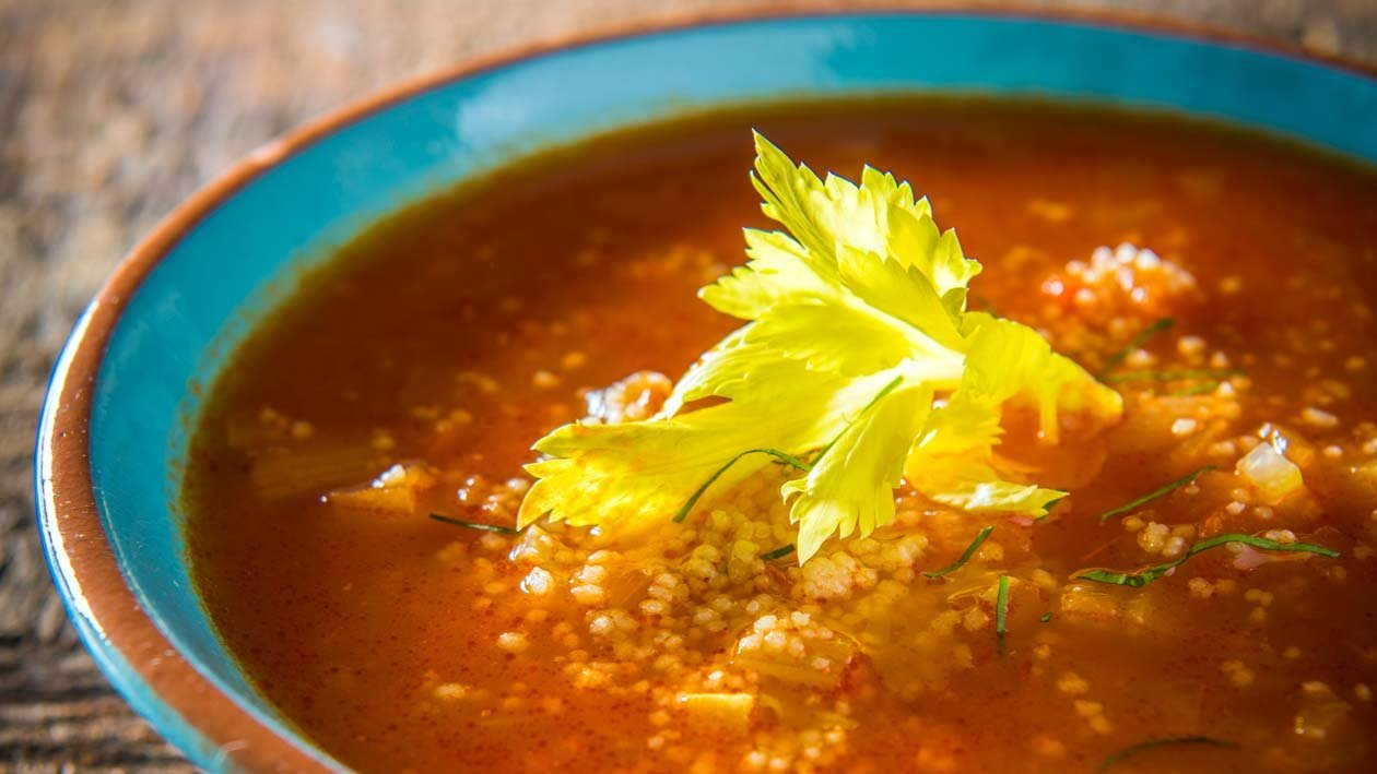 Marokkaanse groentesoep
