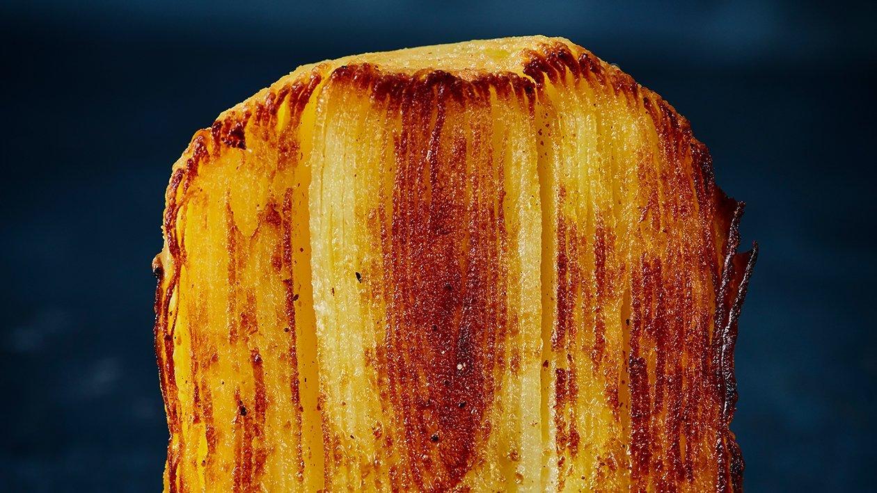 Mille feuille van aardappel
